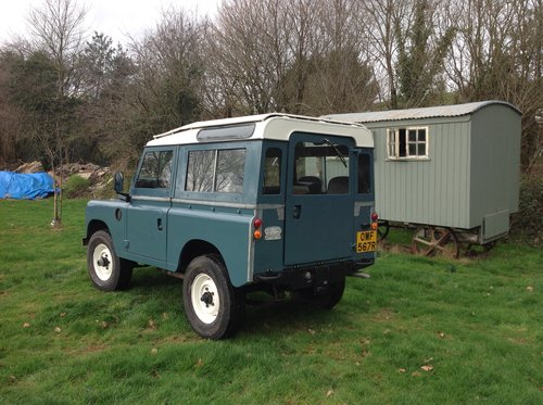 Land rover1976 swb countryman For Sale (picture 3 of 6)