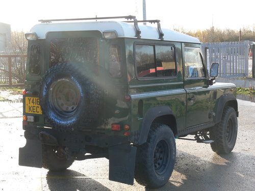 2001 Low Milage Land Rover Defender 90 with 12 mths MOT SOLD (picture 2 of 6)