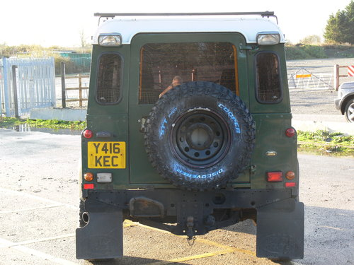 2001 Low Milage Land Rover Defender 90 with 12 mths MOT SOLD (picture 3 of 6)