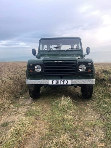 1988 Land Rover Defender 110 hi-capacity pick up For Sale (picture 1 of 6)