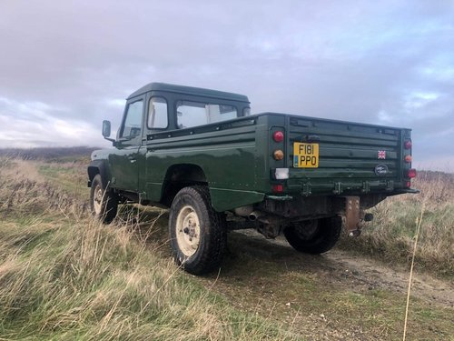 1988 Land Rover Defender 110 hi-capacity pick up For Sale (picture 3 of 6)