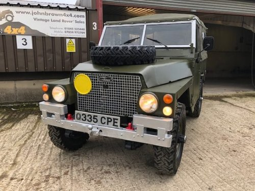 1984 Land Rover ? Lightweight (CPE) RESERVED SOLD (picture 1 of 6)