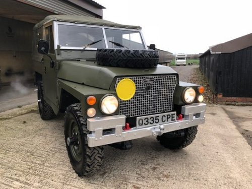 1984 Land Rover ? Lightweight (CPE) RESERVED SOLD (picture 2 of 6)