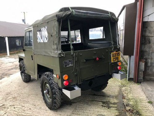1984 Land Rover ? Lightweight (CPE) RESERVED SOLD (picture 4 of 6)