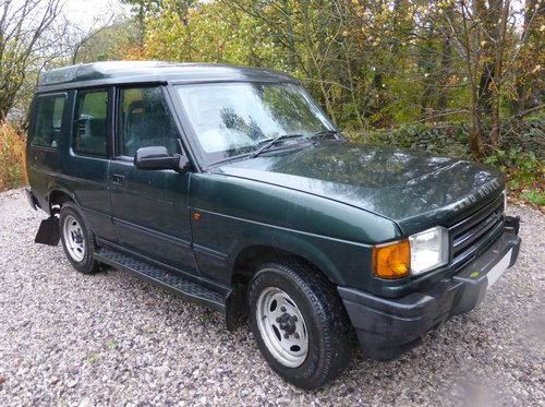 1997 DISCOVERY THREE DOOR MANUAL 300TDi For Sale (picture 3 of 6)