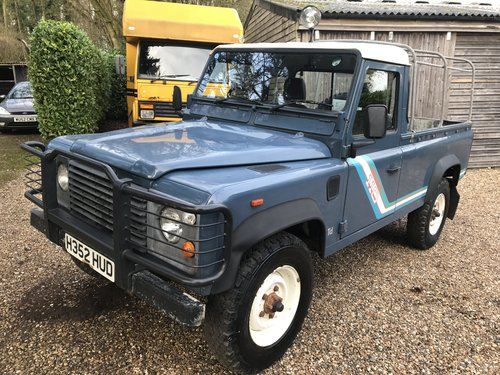 Land Rover Defender 1991 110 Truck cab 2.5 200 Tdi 39k miles SOLD (picture 1 of 6)
