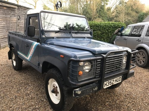 Land Rover Defender 1991 110 Truck cab 2.5 200 Tdi 39k miles SOLD (picture 3 of 6)
