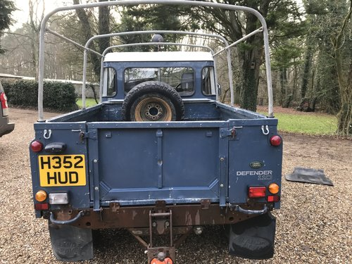 Land Rover Defender 1991 110 Truck cab 2.5 200 Tdi 39k miles SOLD (picture 4 of 6)