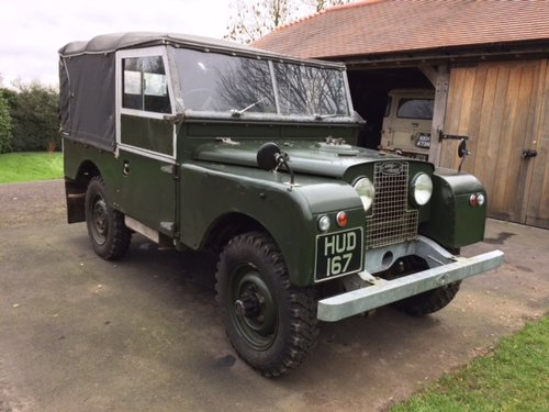 1954 Series 1 86 inch Land Rover Galvanised Chassis & Bulkhead For Sale (picture 1 of 6)