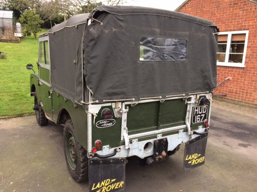 1954 Series 1 86 inch Land Rover Galvanised Chassis & Bulkhead For Sale (picture 2 of 6)
