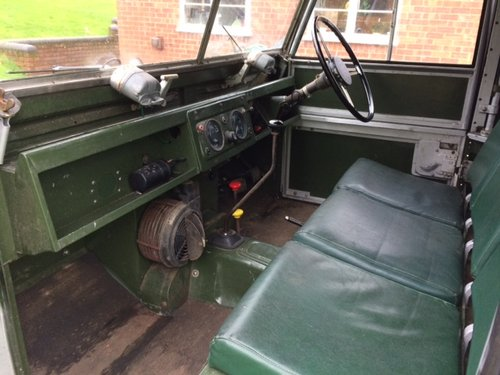 1954 Series 1 86 inch Land Rover Galvanised Chassis & Bulkhead For Sale (picture 3 of 6)