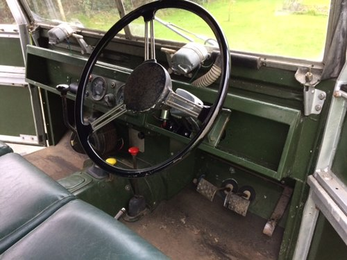 1954 Series 1 86 inch Land Rover Galvanised Chassis & Bulkhead For Sale (picture 4 of 6)