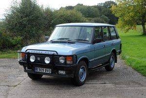 1988 Land Rover Range Rover EFI  77,150 miles For Sale by Auction