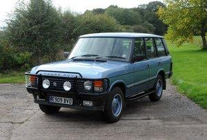 1988 Land Rover Range Rover EFI  77,150 miles
