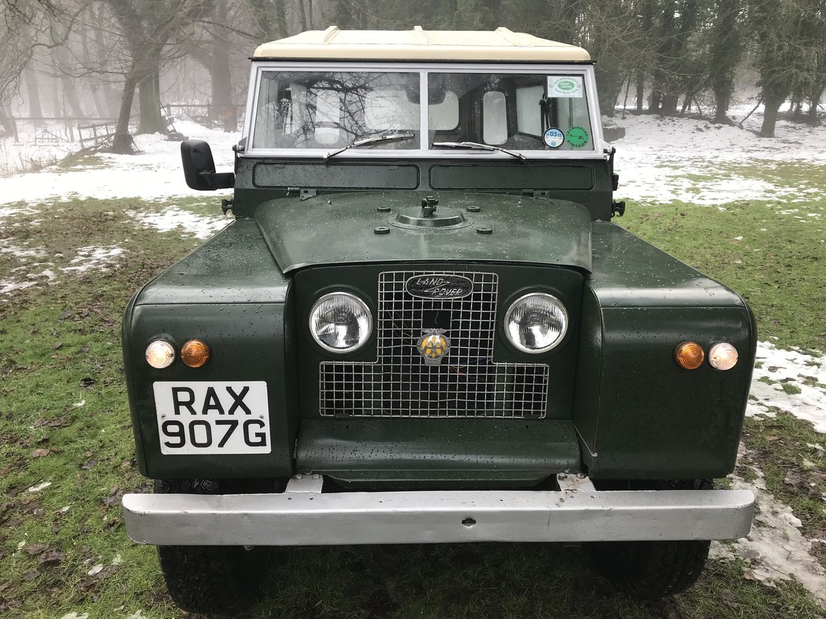 1968 Land Rover Series 2a IIa 88 SOLD (picture 1 of 6)