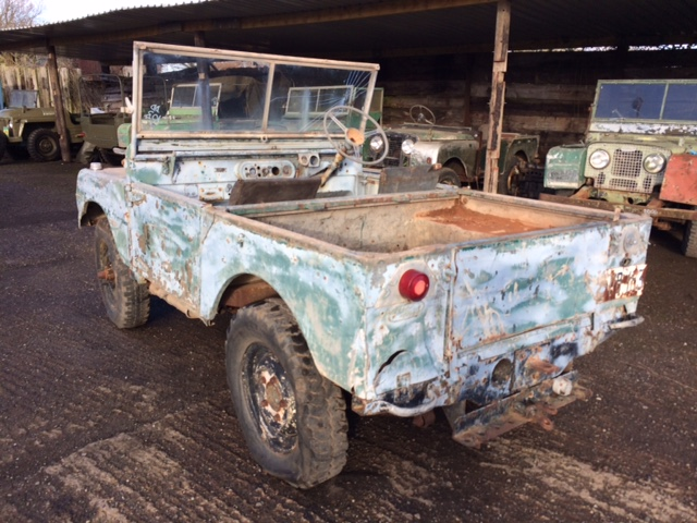 1950 Fish Plate Chassis Full Grill Series 1 80 inch Land Rover For Sale (picture 2 of 6)