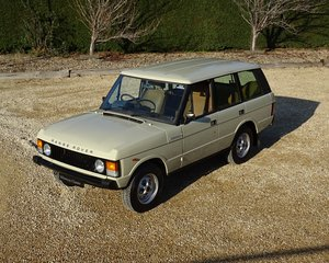 Range Rover – 1st Generation & Utterly Original  For Sale
