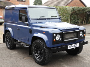2014 LAND ROVER DEFENDER 90 2.2 TDCI HARD TOP STUNNING!!! For Sale