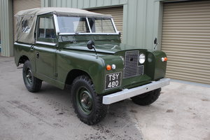 1961 Land Rover Series 2 SWB Petrol - NOW SOLD  SOLD