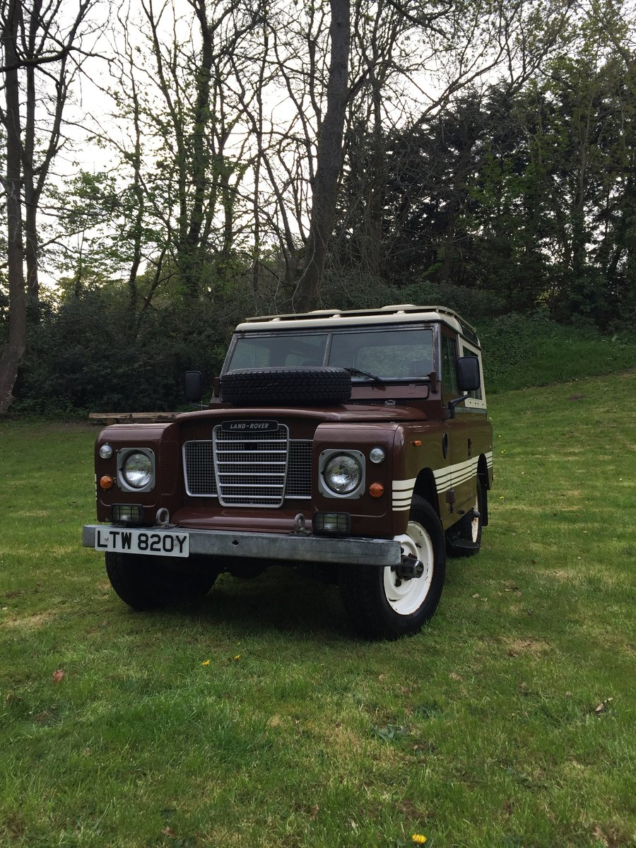 1983 Land Rover - Series 3 - County - Very Original For Sale (picture 1 of 6)