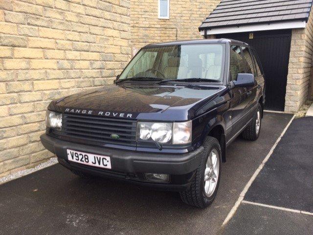 1999 Range Rover P38 4 6 V8 VOUGE only 91000 miles For Sale