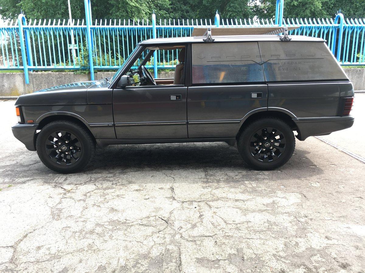 1993 Custom Range Rover LSE Brookland custom servicecar For Sale (picture 1 of 6)