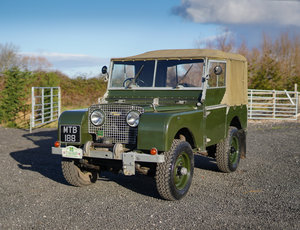 "Land Rover Series 1 80"" 1950 Model in Great Condition SOLD"