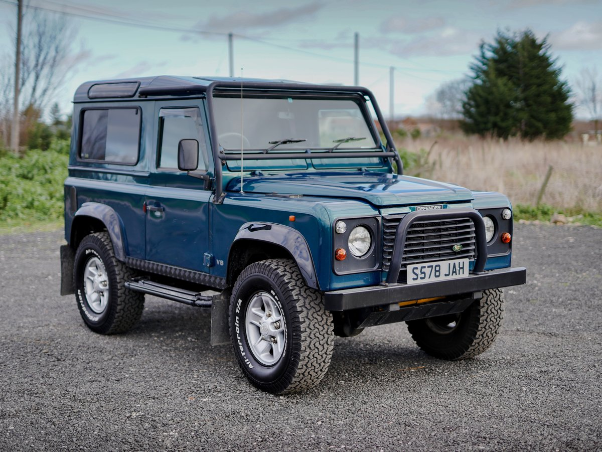 1998 Land Rover Defender 90 50th Anniversary Edition 4.0 V8 Auto SOLD (picture 1 of 6)