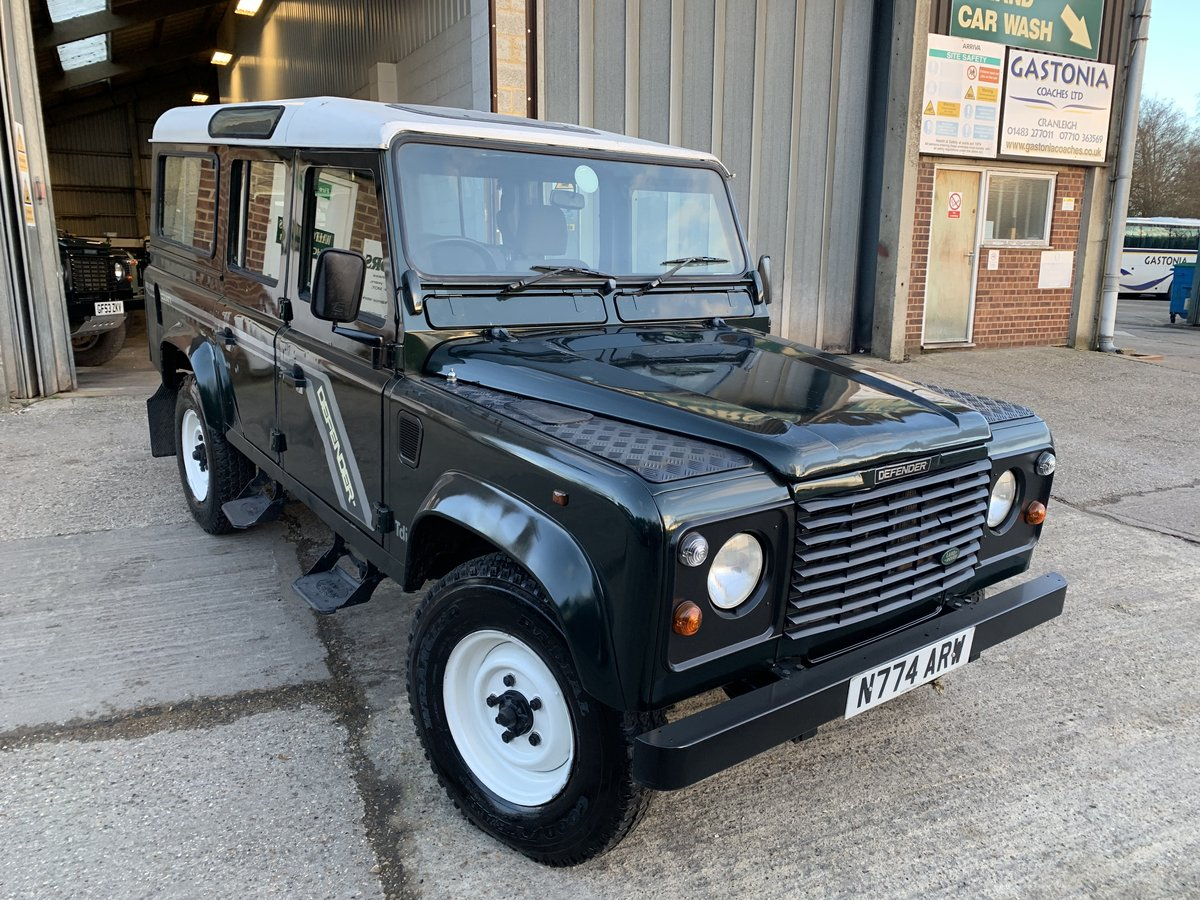 1996 land rover 110 300 tdi county station wagon new chassis  For Sale (picture 1 of 6)