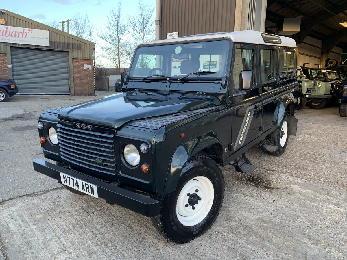 1996 land rover 110 300 tdi county station wagon new chassis  For Sale (picture 2 of 6)