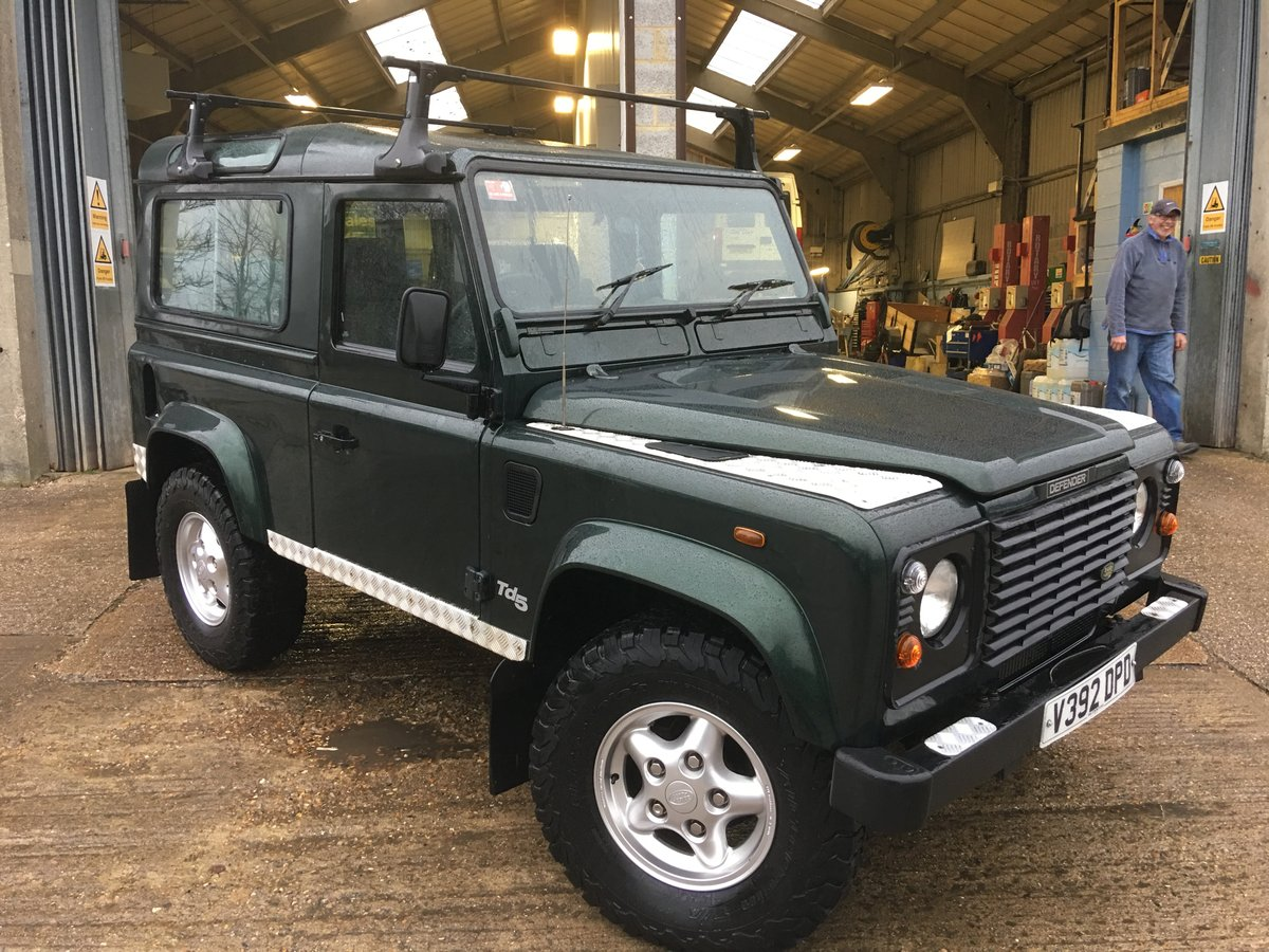 2000 land rover td5 genuine county station wagon 1 owner mint For Sale (picture 1 of 6)