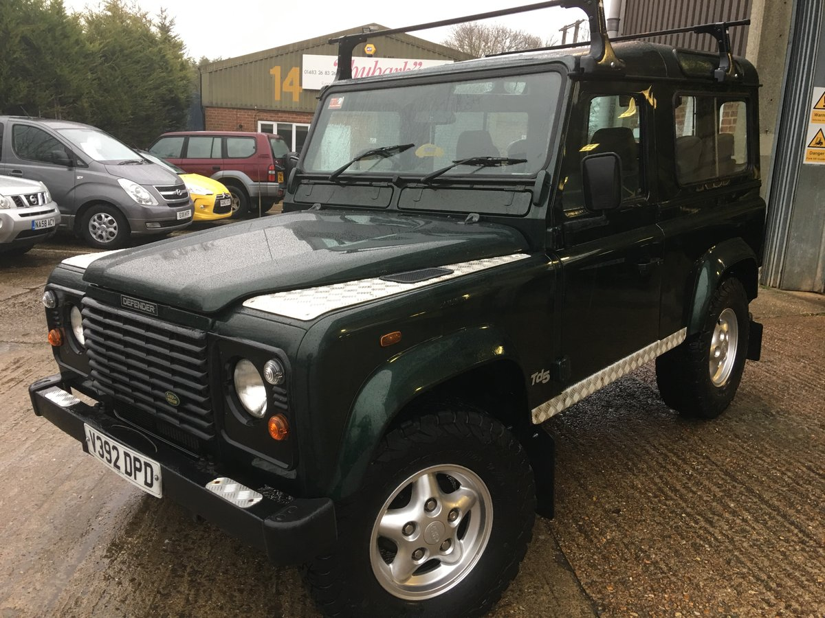 2000 land rover td5 genuine county station wagon 1 owner mint For Sale (picture 2 of 6)