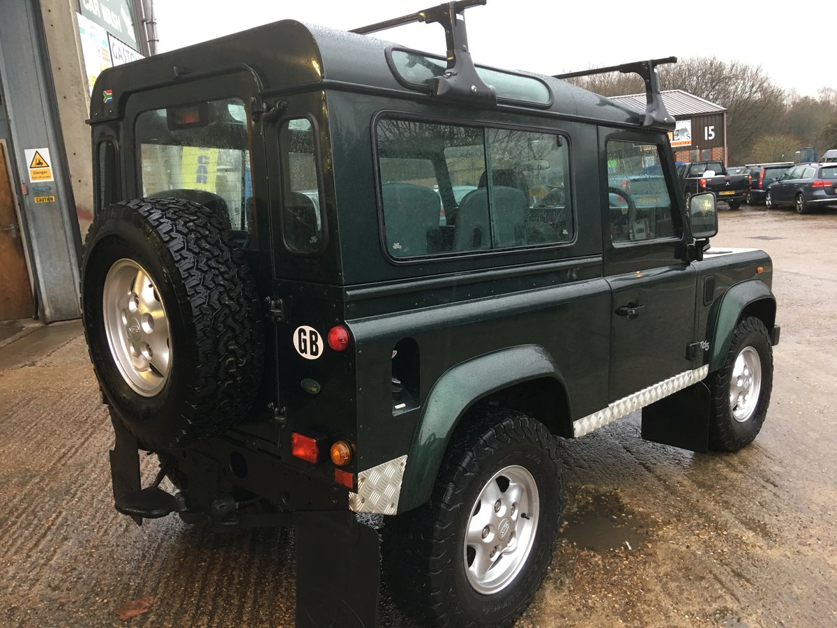 2000 land rover td5 genuine county station wagon 1 owner mint For Sale (picture 3 of 6)