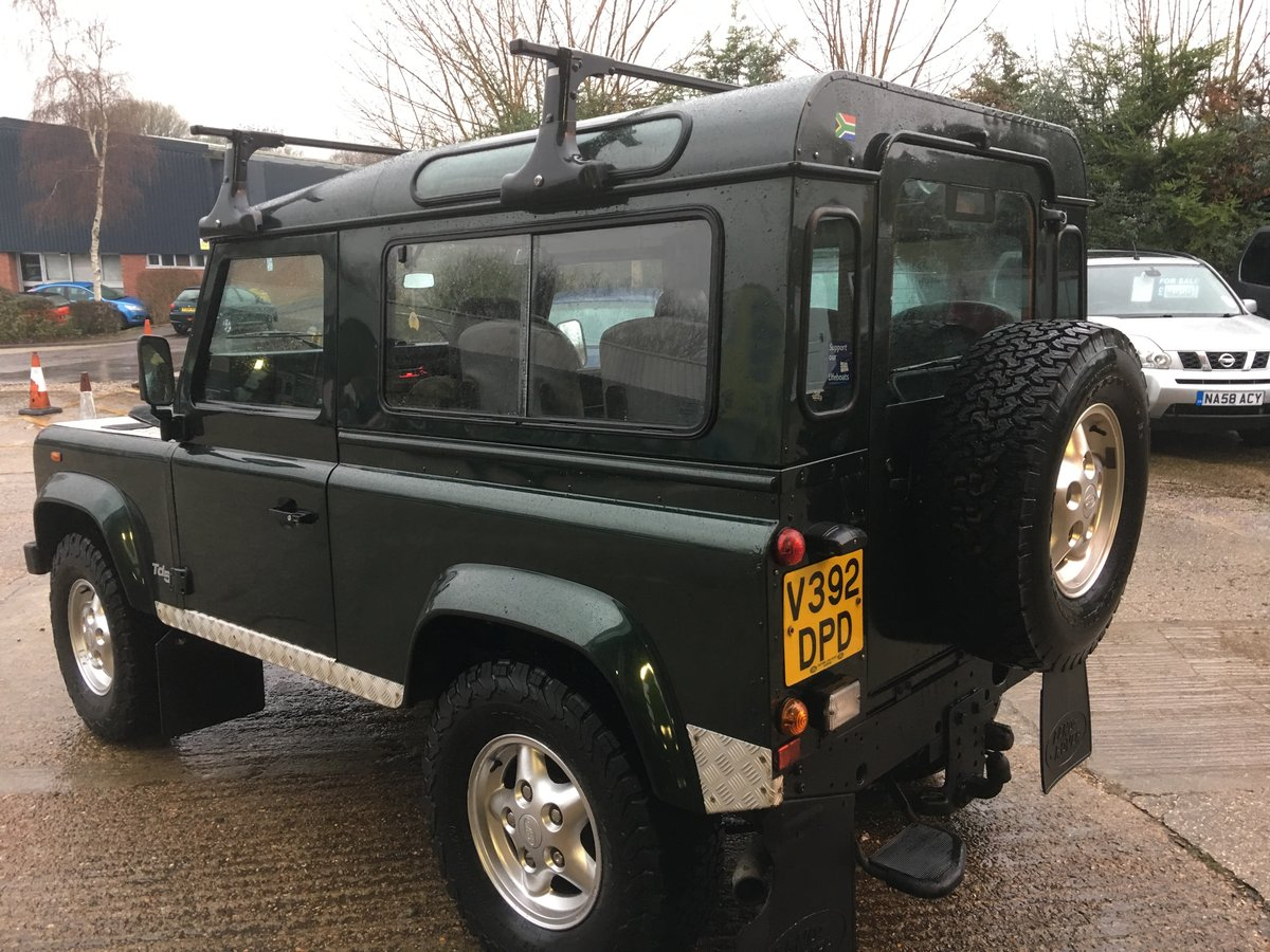2000 land rover td5 genuine county station wagon 1 owner mint For Sale (picture 4 of 6)