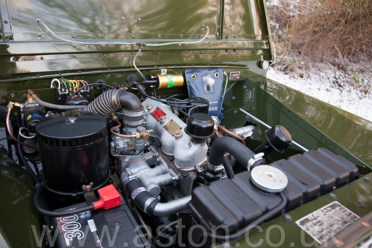 "1950 Land Rover Series 1 80"" World Class Restoration For Sale (picture 5 of 6)"