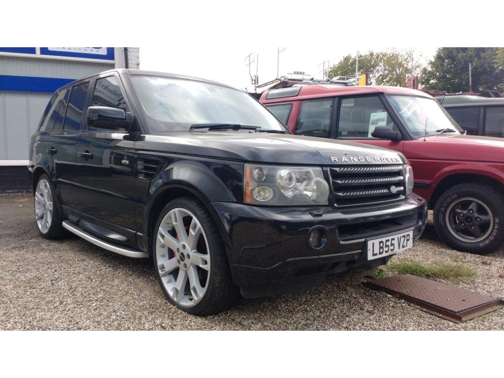 2006 Land Rover Range Rover Sport 2.7 TD V6 HSE OVERFINCH LOOK For Sale (picture 1 of 6)