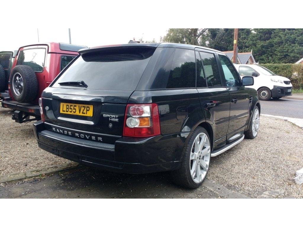 2006 Land Rover Range Rover Sport 2.7 TD V6 HSE OVERFINCH LOOK For Sale (picture 2 of 6)