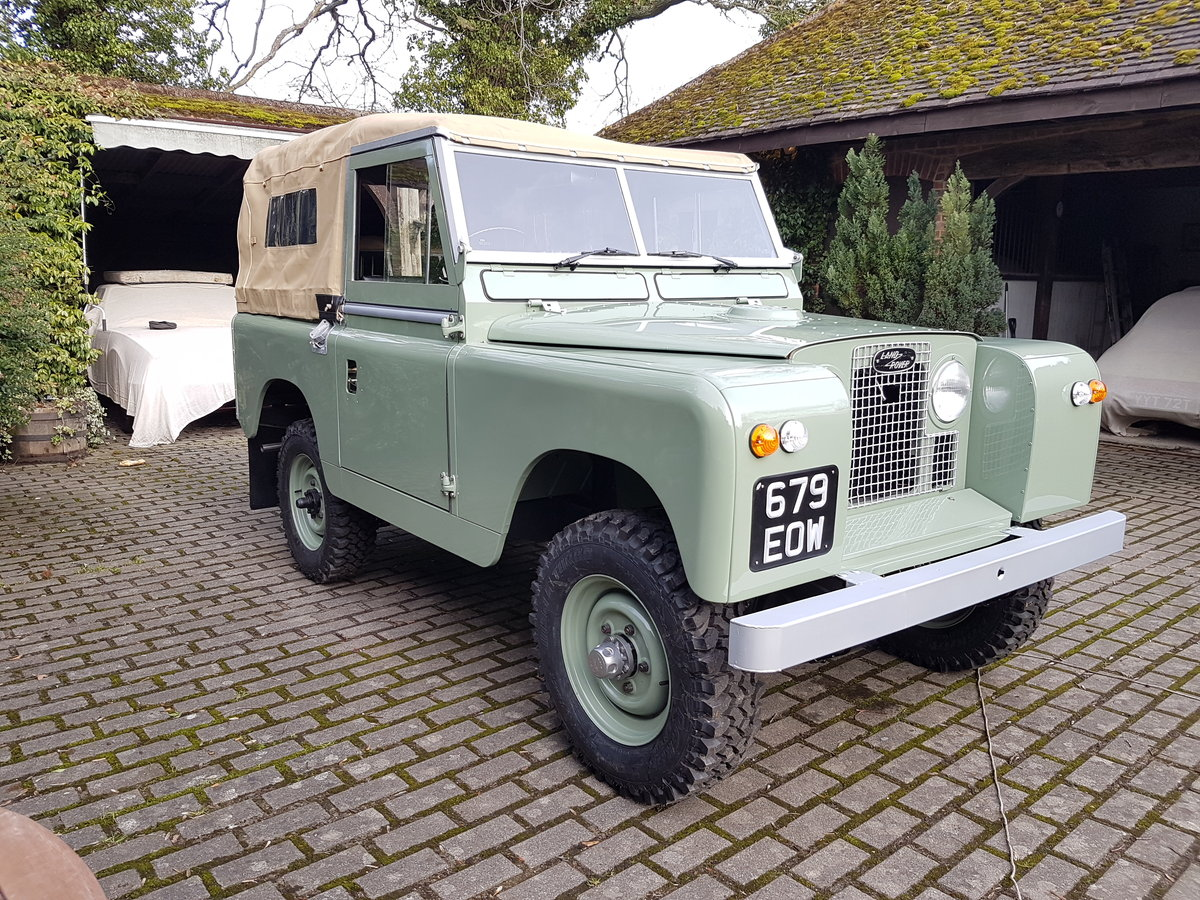 1963 Land rover series 2A full restoration SOLD (picture 1 of 6)