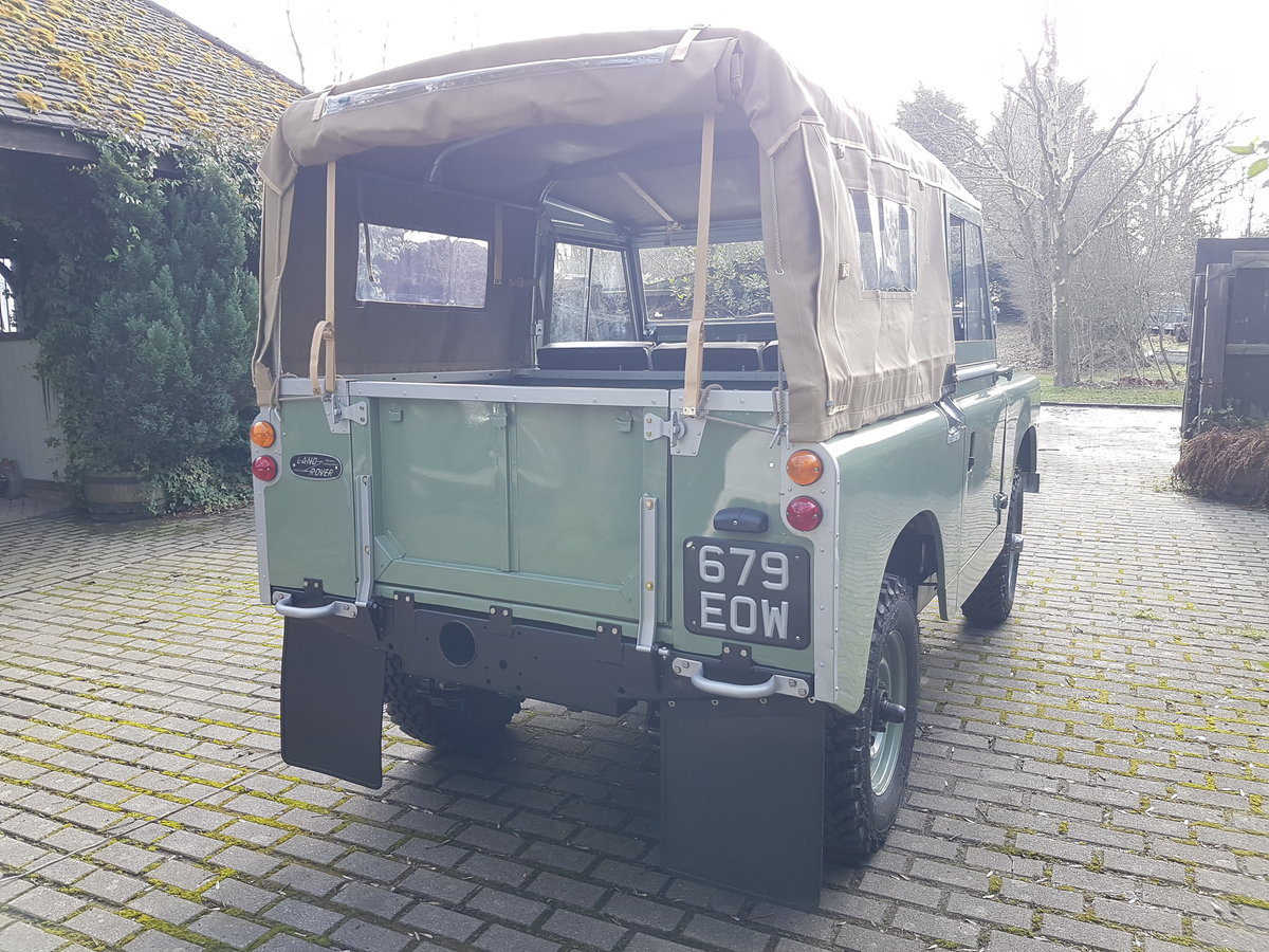1963 Land rover series 2A full restoration SOLD (picture 6 of 6)