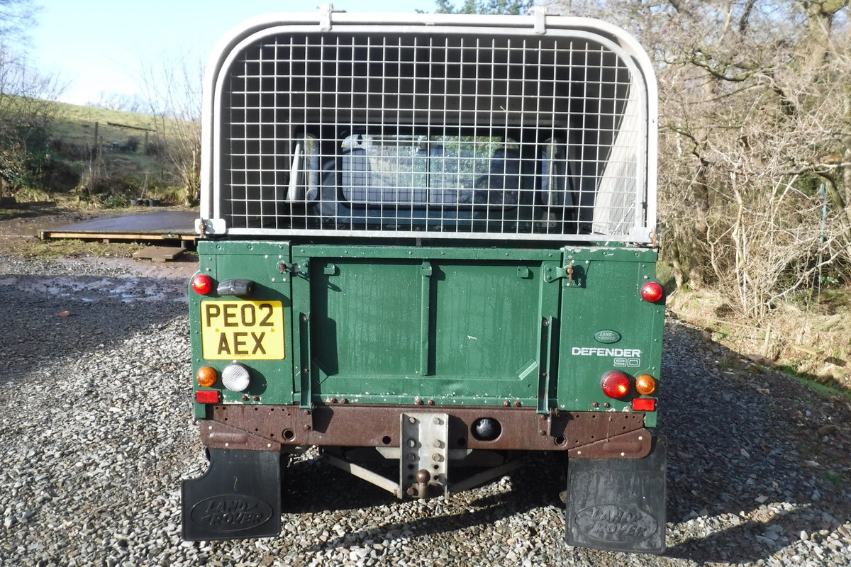 2002 LAND ROVER 90 1 OWNER LOW MILES ALWAYS GARAGED ROT FREE SOLD (picture 4 of 6)