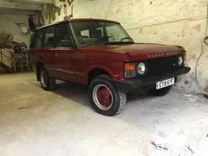 1987 Range Rover Classic For Sale