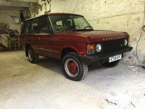 1987 Range Rover Classic