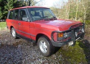 1990 RANGE ROVER CLASSIC DIESEL 200 TDI MANUAL 5 SPEED LT77 For Sale