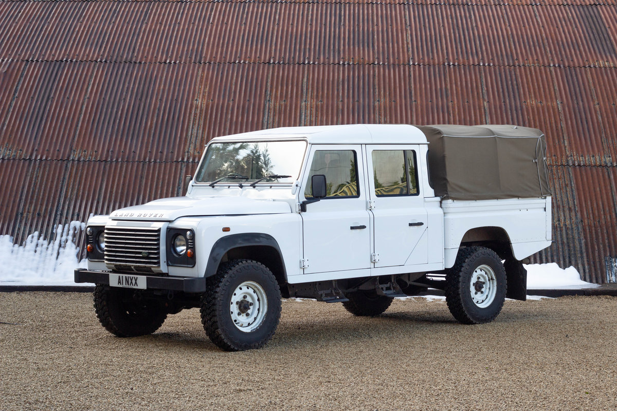 2011 Land Rover Defender 130 Double Cap – High Capacity Pick For Sale (picture 1 of 6)
