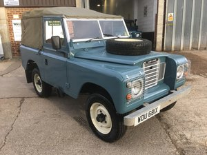 1981 land rover series 3 swb soft top diesel in great condiction