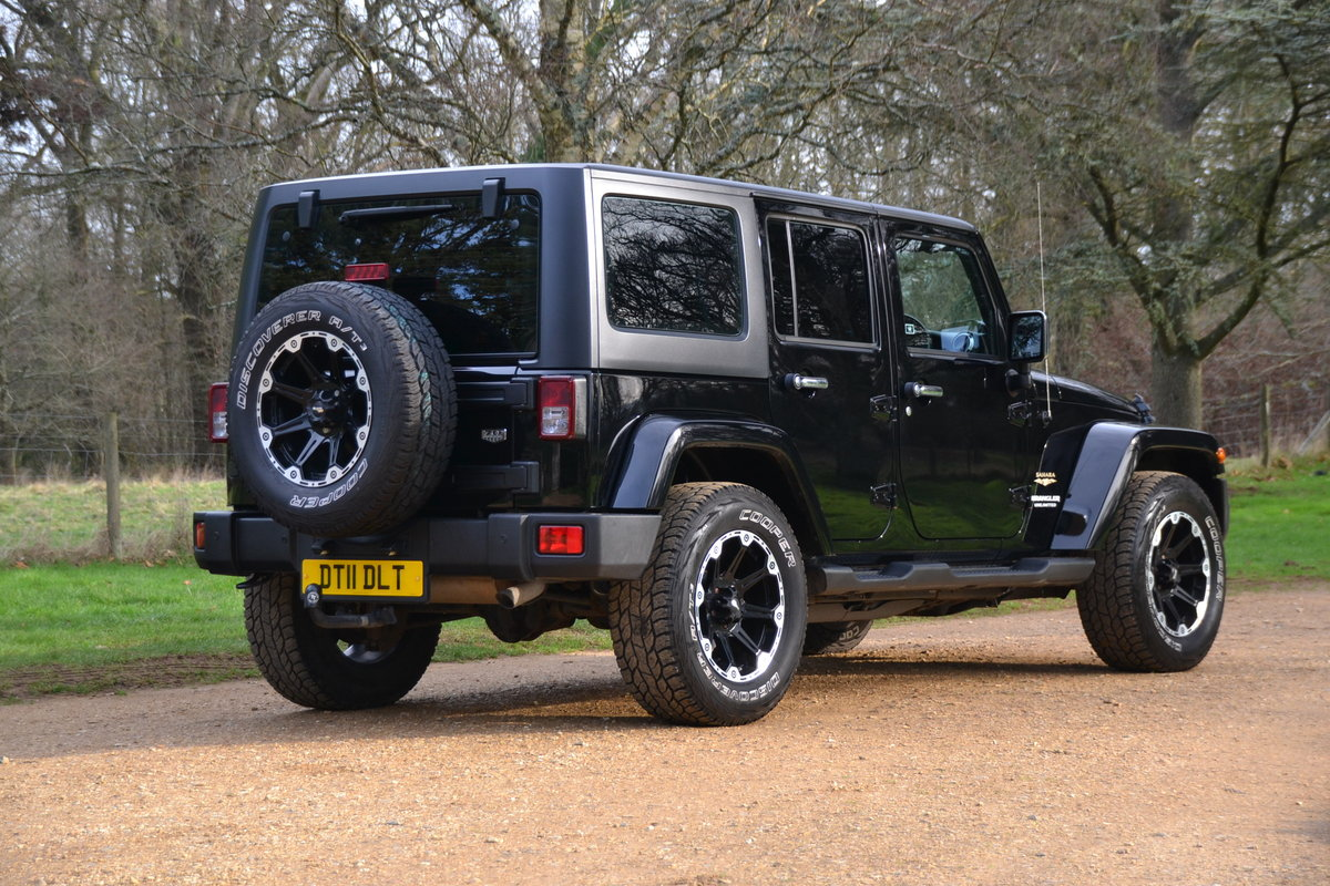 2014 Jeep Wrangler Sahara Unlimited CRD Auto LWB For Sale (picture 2 of 6)
