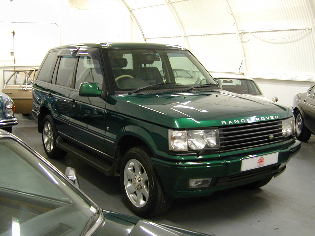 2001 RANGE ROVER P38 4.6 30th ANNIVERSARY RHD - FINAL PRODUCTION  For Sale (picture 1 of 6)