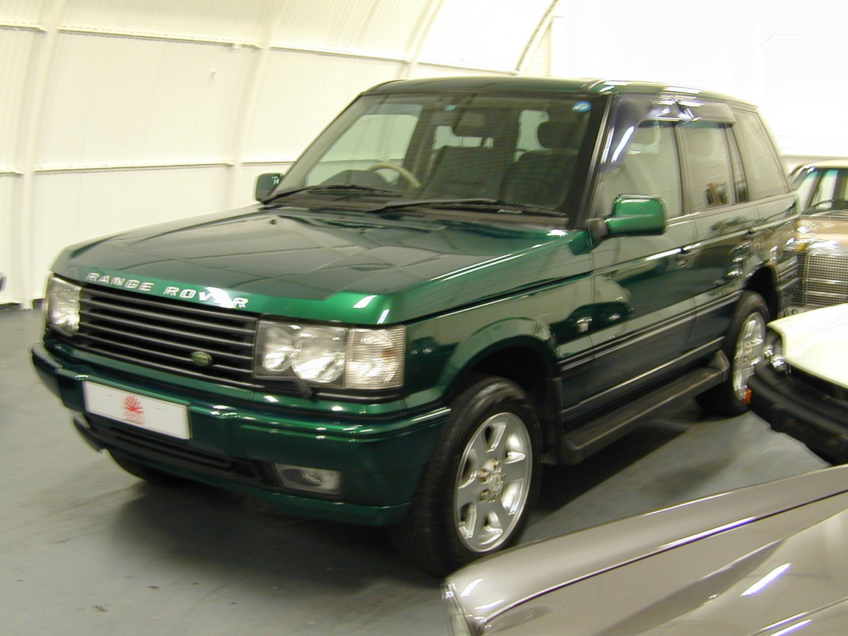 2001 RANGE ROVER P38 4.6 30th ANNIVERSARY RHD - FINAL PRODUCTION  For Sale (picture 2 of 6)