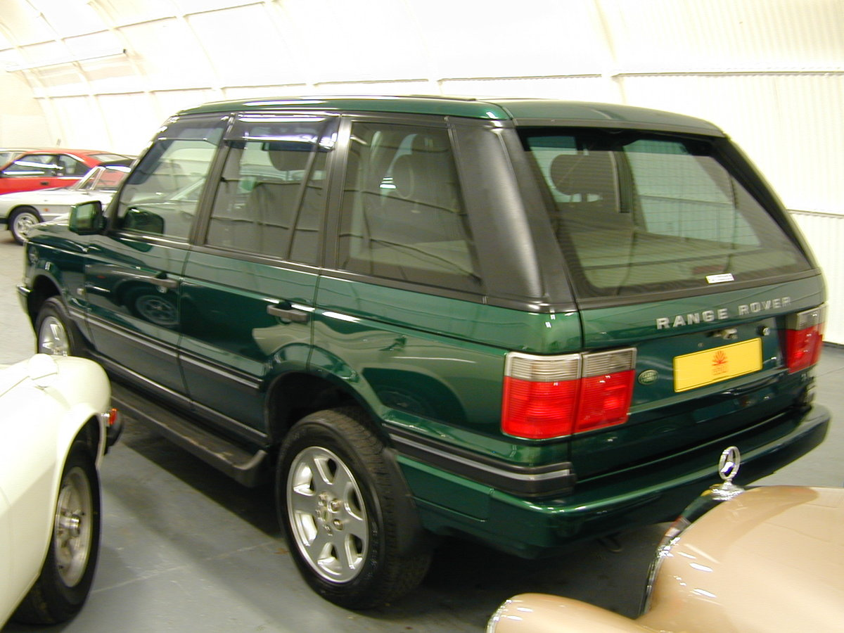 2001 RANGE ROVER P38 4.6 30th ANNIVERSARY RHD - FINAL PRODUCTION  For Sale (picture 3 of 6)