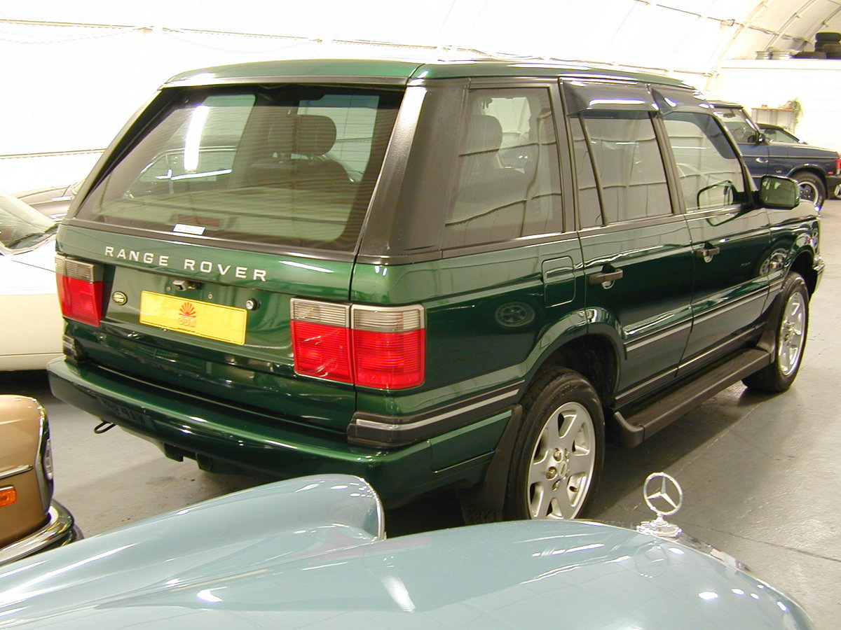 2001 RANGE ROVER P38 4.6 30th ANNIVERSARY RHD - FINAL PRODUCTION  For Sale (picture 4 of 6)